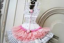 Paper & Mixed Media Dresses / by dcdagmar