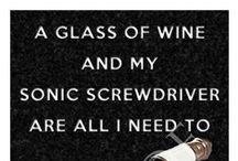 Doctor Who Inspired / Whether your a #DoctorWho Fan or not there are some great related items out there for us #wine geeks!
