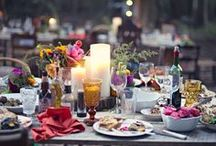 Entertaining / We all like to get together with friends, share #food, #wine, and good times. Here are some ideas to help you kick off your #entertaining event with some great themes and ideas!