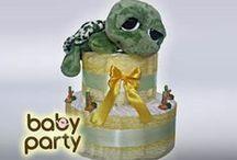 Plienkové torty :)  / Originálne plienkové torty so špeciálnou plienkovou plnkou :)