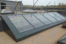 Devon Studio / Installation of our glass roof lights at Devon Studio in Torquay, completed April 2014.