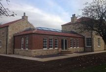 Passivhaus, Doncaster. / Installation of our Passivhaus certified glass roof lights at a private home in Doncaster, completed January 2014.