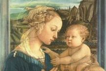 Blessed Virgin Mary in Italy / AKA the BVM--She's all over Italy=Abundant Mother of Compassion, Smiling Down Upon Us!