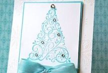 kerst & turquoise / christmas turquoise