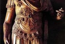 Cuirasses of Ancient Rome / The muscle cuirass (lorica musculata) worn by high ranking Legionary officers. / by Van Diemen's Land Steam Co.