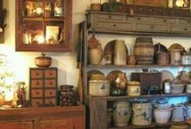 primitives / old and lovely hand made wooden items / by Judy Krogh