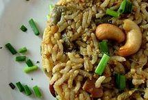 Indian Food Flavours / India Veg food varieties