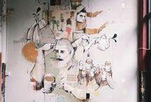 PaintWorks / murals / art walls /paint