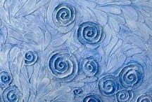 indigo blauw / by evelien