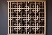 Divide & Conquer / lattice loving / dividers / screens