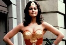 Wonder Woman / my childhood heroine  Love Lynda Carter