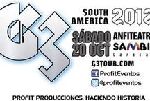 G3 Tour / G3 en Venezuela - 20 octubre de 2012 / by Profit Producciones