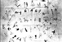 segni e alfabeti / segni lasciati, segni inventati, scritture e lingue