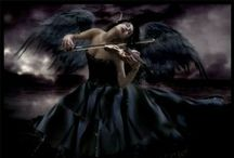 """The Dark Angel Book  / The sequel of the book """"The Demon Child"""" Here's a board full of inspiration and sneak-peeks from this book"""