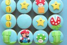 cakes & cookies || mario, geek & retro games