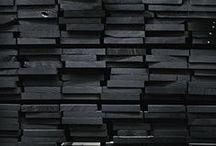Black / Everything in black.