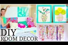 Deco ideas / Decorating and storing ideas