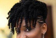 natural hair crush / cheveu africain soins et coiffures