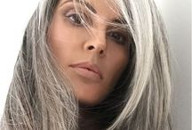 Going grey / Tired of dying my hair... looking for options.