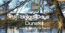 Beach Hut Salad Days / Salad Days Dunster - Award Winning Luxury Beach Hut Accomodation at Dunster Beach Somerset UK - http://dunsterbeachhut.com/ - https://www.facebook.com/saladdaysdunster