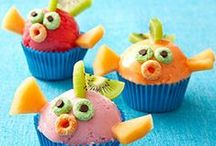 Sea Creature Yummies / Cook, bake, or create these treats!