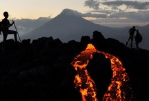 Volcanoes in Central America and Mexico