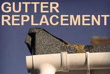 Gutter Replacement / by Classic Roofing & Gutters, LLC
