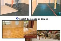 Superseal's Carpet Subfloor / Superseal's Carpet Subfloor Membrane is a moisture barrier and thermal break membrane with a unique double dimple design.