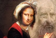Mona Lisa and other Parodies of art / by Lesley Hill