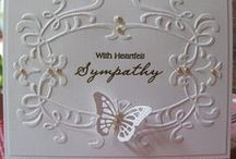 cards: sympathy / by Merry Erin Edwards