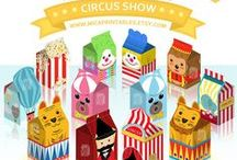Magical Circus Favor Boxes