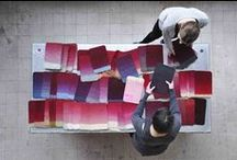 Projects - recycled rugs / Desso re-vive Carpets | making outdated rugs stylish again. Many things are thrown away, but Design duo rENs & Desso make outdated rugs stylish again http://bit.ly/re-vive