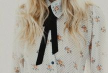 F A S H I O N - Inspiration / Fashion, vintage, cute, girly, retro, mod,  flowers, layers, dresses, skirts, cardigans, peter pan collars and boho chic.