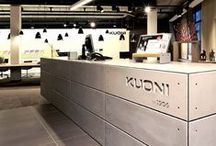Kuoni - Flagship Store Lausanne / Lausanne is a university town with a rather youthful tendency. Therefore the concept for this store implements a communicative and spectacular consulting environment.