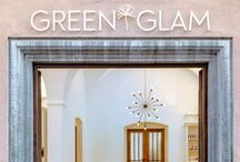 Green Glam, Augsburg / The store concept for Green Glam acts as an amplifier for the brand as well as for the unique premises. Our interior design shows respect for the historic structure and thus also reflects the brand values of Green Glam again: high quality, naturalness and a calm clear conception of aesthetics. The Fugger rooms experience thus an exciting renaissance - they seem to be built for the 21st century like.