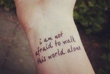 Tattoos,lyrics & bands / The three things that just belong together (at least in my opinion)