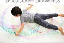 Grafomotorické listy a hříčky / Bezbolestné psaní začíná u grafomotoriky.  Cestičky, kličky, zuby a tvary jsou tu i pro Vaše dítko.