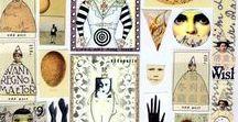 * Collage Sheets / Collage sheets for collage and abstract / zetti art. Ephemera, die cut shapes, craft, images