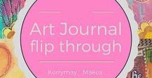 * Art & Journal Videos / Art Videos and journal; videos, art tutorials, flip throughs, art inspiration, techniques, planners, bullet journals, hauls, how to's, process videos, art with me and D.I.Y art