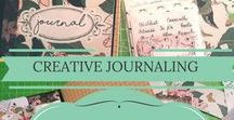 * Creative Journal / Creative journaling, journals, memory keeping, documented life, life journal, collage, planning, smash book style, bible journaling, midori, moleskine and creative inspiration for colourful journals.