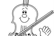 Písničky, hudební výchova