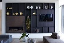 TV Wall Solutions / What to do with the TV wall -- hide it or celebrate it