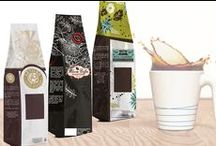 Packaging for Beverages / Keep your tea and coffee beans fresh and aromatic with the use of valve and resealable bags.