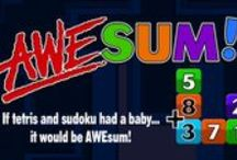 """AWEsum Games / Examples from our """"Awesum"""" apps! We want YOU to be Awesum!"""