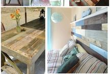 Wooden pallets / Stuff I would like to make
