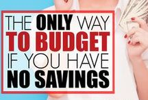 How to budget / Budgeting tips for beginners. How to write a budget. Easy budget tips.