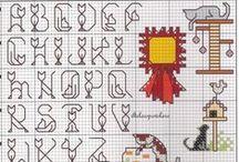 Cross stitch - alphabets