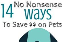Save Money On Pets / How to save money on pets.