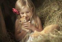 Enfant & animal