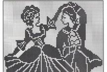 Cross stitch - old times